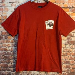 Independent Men's Sz Med Red T-Shirt